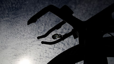 <p>               A bicycle is silhouetted by sunlight ahead of the 2019 Tour de France cycling race in Brussels, Friday, July 5, 2019. (AP Photo/Christophe Ena)             </p>