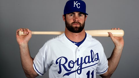 <p>               FILE - In this Feb. 21, 2019, file photo, Kansas City Royals' Bubba Starling poses with a baseball bat. Starling has finally reached his goal of getting to the major leagues with the Royals. (AP Photo/Charlie Riedel, File)             </p>