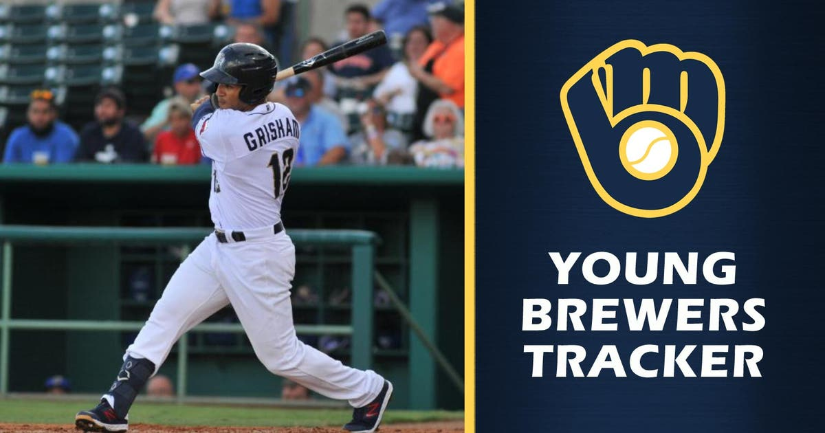 Former Brewers top pick Trent Grisham has monster week in Triple-A