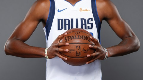 <p>               FILE - In this Sept. 21, 2018, file photo, Dallas Mavericks forward Kostas Antetokounmpo, of Greece, poses for a photo during the NBA basketball team's media day in Dallas. The Los Angeles Lakers have been awarded the rights to Kostas Antetokounmpo on a waiver claim. The Lakers announced the move Monday, July 22, 2019, to acquire the 21-year-old brother of Milwaukee Bucks superstar Giannis Antetokounmpo. (AP Photo/Jim Cowsert, File)             </p>