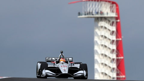 <p>               FILE - In this March 23, 2019, file photo, Santino Ferrucci drives during an open practice session for the IndyCar Classic auto race in Austin, Texas. After a recent string of strong finishes in IndyCar, Ferrucci is showing off the driving skill that was never really in doubt. (AP Photo/Eric Gay, File)             </p>