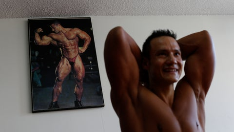<p>               In this June 6, 2019 photo, Carlos Suarez practices his bodybuilding poses as part of his daily training regimen ahead of the Pan Am Games, at the neighborhood gym owned by his parents in Toluca, Mexico. Suarez and female fitness competitor Xyomara Valdivia will become the first Mexicans to represent their country in bodybuilding at the Pan Am Games, with this year marking the first time the discipline has been included as an official sport. (AP Photo/Rebecca Blackwell)             </p>
