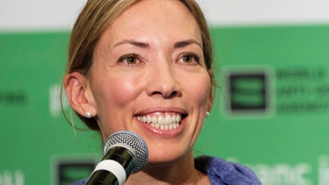 <p>               FILE - In this June 5, 2018, file photo, World Anti-Doping Agency athlete committee chairperson Beckie Scott speaks at a news conference following the agency's first Global Athlete Forum in Calgary, Alberta. Scott has received the Order of Canada for her contributions to the fight against doping. The 2002 Olympic champion in cross-country skiing received the honor on Thursday, July 4, 2019. (Jeff McIntosh/The Canadian Press via AP, File)             </p>