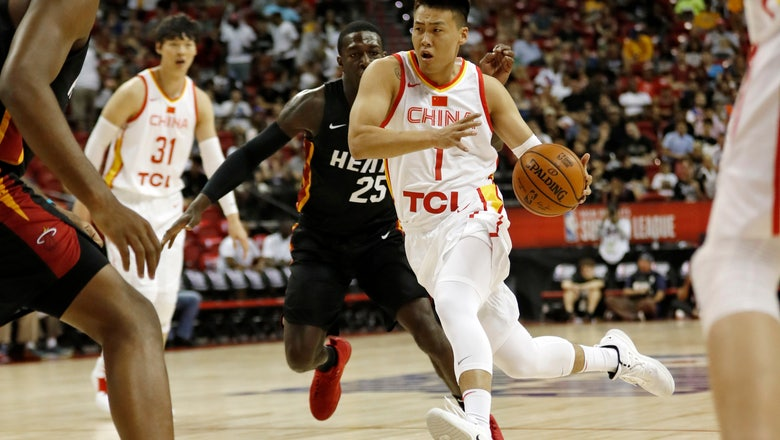 China's World Cup team sees Summer League as opportunity