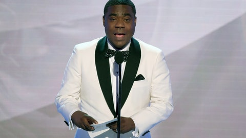 """<p>               FILE - In this Jan. 27, 2019, file photo, Tracy Morgan presents the award for outstanding performance by an ensemble in a comedy series at the 25th annual Screen Actors Guild Awards in Los Angeles. For Tracy Morgan, hosting The ESPYs is personal. It's not just another gig to the comedian. The star of TBS' """"The Last O.G."""" presides over Wednesday's, July 10, 2019, show honoring the past year's top athletes, performances and achievements airing live on ABC from Microsoft Theater in Los Angeles. """"The main reason I really wanted to do it is the fight against cancer,"""" Morgan said in a recent phone interview, explaining that his grandparents and former wife Sabina died of the disease. """"(Photo by Richard Shotwell/Invision/AP, File)             </p>"""