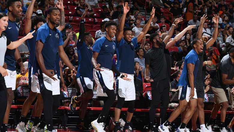 Wolves advance to summer league semifinals with 108-82 win over Dallas