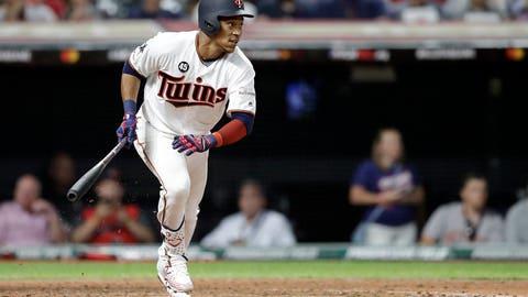 Jorge Polanco, Twins shortstop (↑ UP)