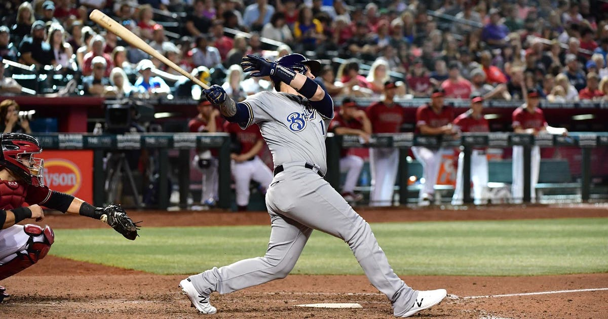 More late-inning runs propel Brewers to series-clinching 7-4 victory   FOX Sports