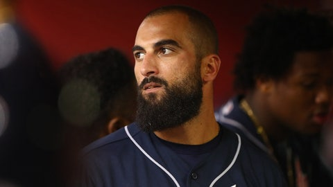 1. With Markakis out, will Braves look to trade to fill the void?