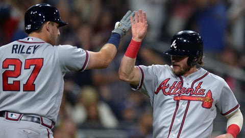 2. Braves' road dominance could have them chasing history