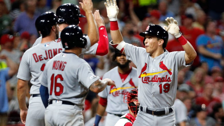 Edman's grand slam lifts Cardinals to 7-4 win over Reds