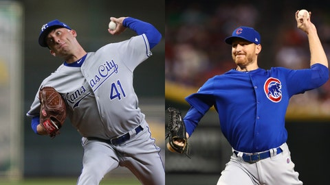 Danny Duffy, Mike Montgomery, Kansas City Royals