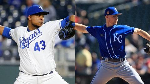 Wily Peralta, Josh Staumont, Kansas City Royals