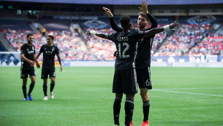 Gerso shines in Sporting KC's 3-0 victory over Whitecaps