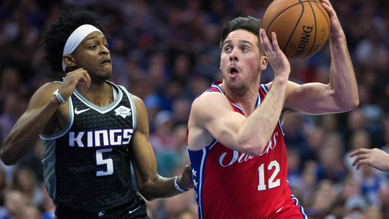 Pacers sign ex-76ers guard McConnell, re-sign Sumner