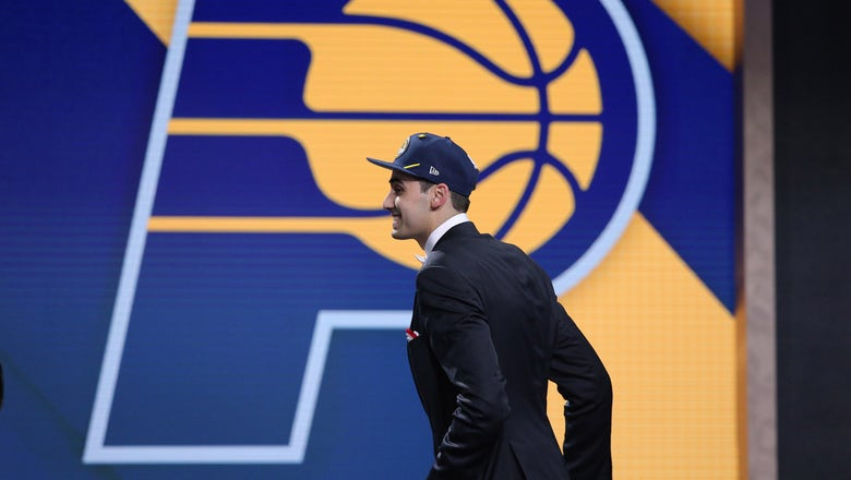 Pacers sign first-round pick Bitadze