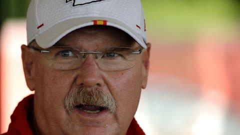 Coach Andy Reid