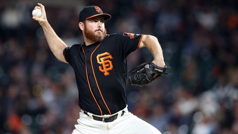 Twins trade for Giants reliever Sam Dyson ahead of Major League Baseball trade deadline