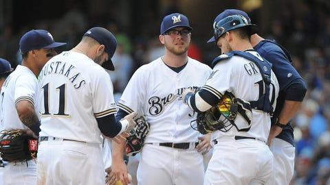 Matt Albers and Corbin Burnes, Brewers relievers (↓ DOWN)