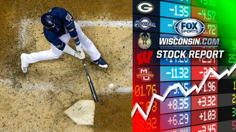 Keston Hiura, Brewers second baseman (↑ UP)