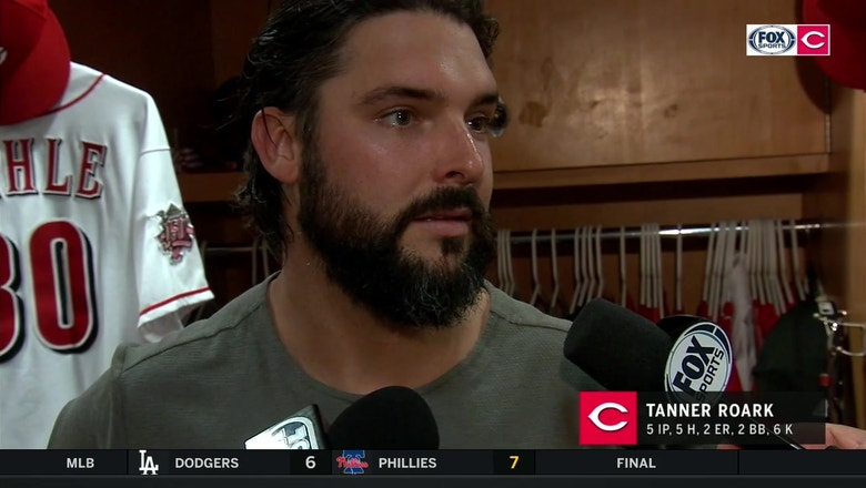 Tanner Roark will be running outside more to get better acclimated to summer heat