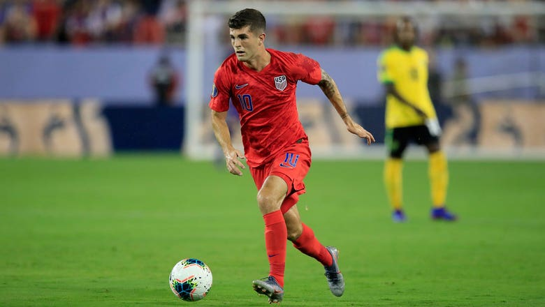 Christian Pulisic scores USMNT's second goal off the rebound vs. Jamaica | 2019 CONCACAF Gold Cup Highlights