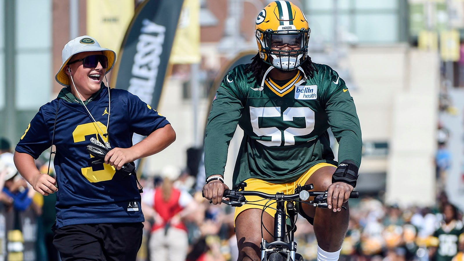 sneakers for cheap bc105 26379 Green Bay Packers rookie Rashan Gary's biggest critic is himself