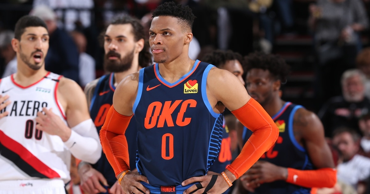 Colin Cowherd doesn't foresee Russell Westbrook changing 'rigid' play style to mesh with Harden