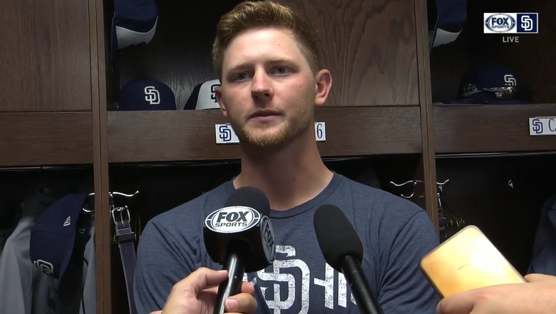 Eric Lauer discusses his start in Chicago   Padres Live