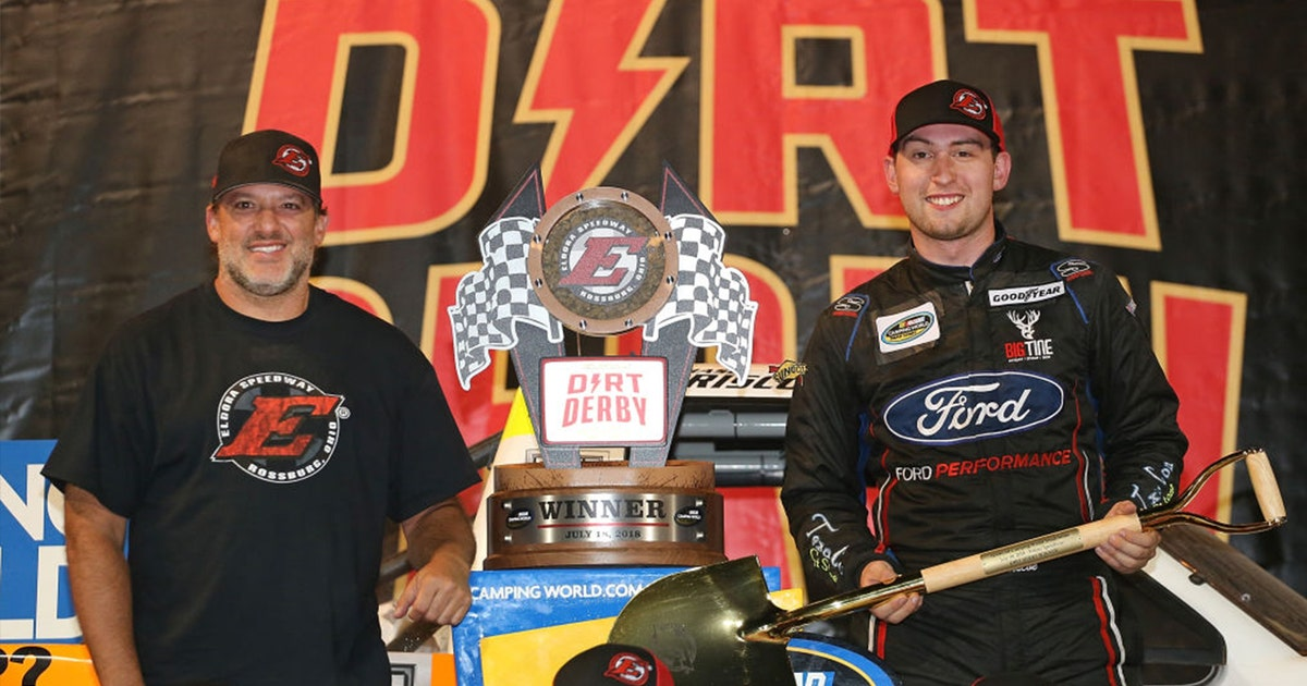 Chase Briscoe remembers the time Tony Stewart had some words for him