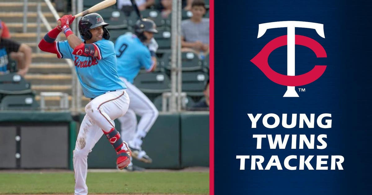 Bat of Minnesota Twins top prospect Royce Lewis coming around