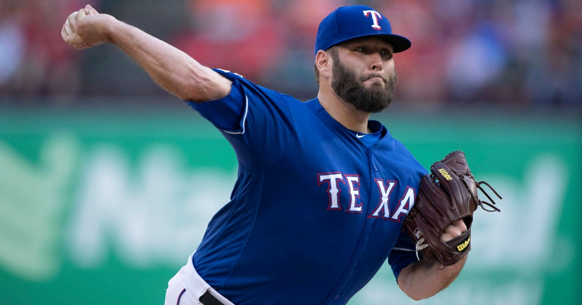 Lynn gets MLB-best 12th win as Rangers beat Astros 5-0 | FOX Sports