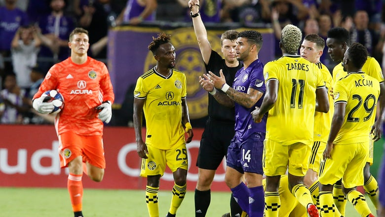 Orlando City scores in 84th to get the win over Crew, 1-0