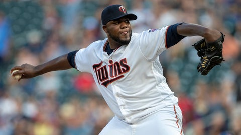 Michael Pineda, Twins pitcher (↑ UP)