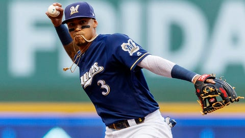 Orlando Arcia, Brewers shortstop (↓ DOWN)