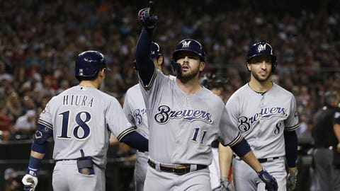 "9. Mike Moustakas: ""CA STRONG"""