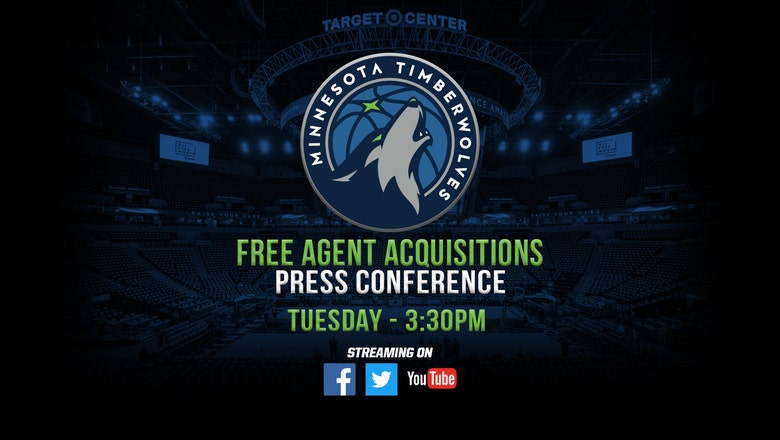 WATCH: Timberwolves introduce newest free agent acquisitions
