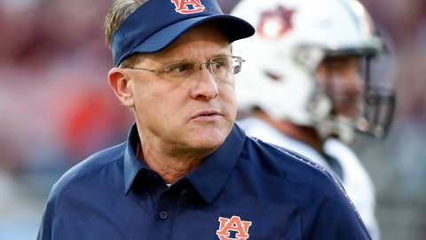 <p>               FILE - In this Oct. 6, 2018, file photo, Auburn coach Gus Malzahn watches players warm up before an NCAA college football game against Mississippi State in Starkville, Miss. The Tigers have been one of the most difficult teams in the country to predict in recent years. Fittingly, the same can be said of Malzahn's long-term job security. (AP Photo/Rogelio V. Solis, File)             </p>