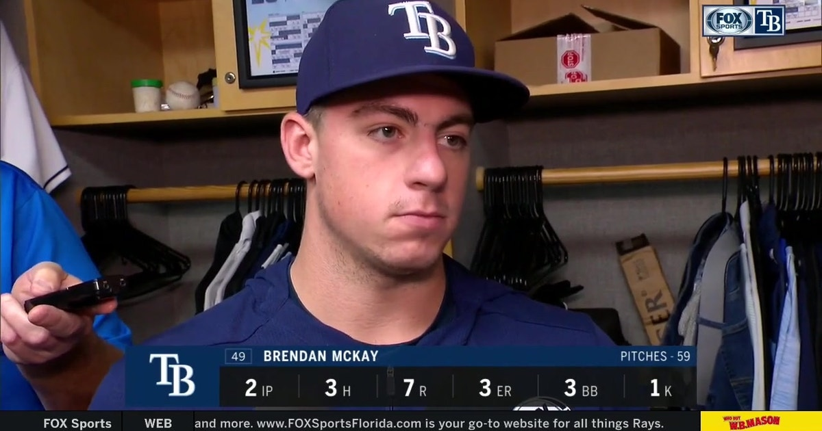 Rays LHP Brendan McKay breaks down his rough start after 9-3 loss to Mariners