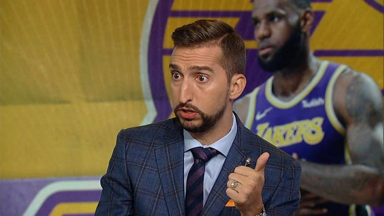 Nick Wright gives stats to dispute David Griffin's comments about LeBron James