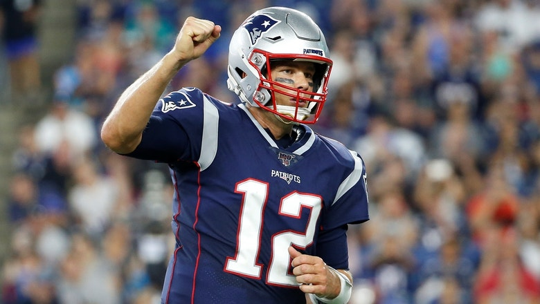 Cris Carter's biggest takeaway from Tom Brady's 2019 preseason debut