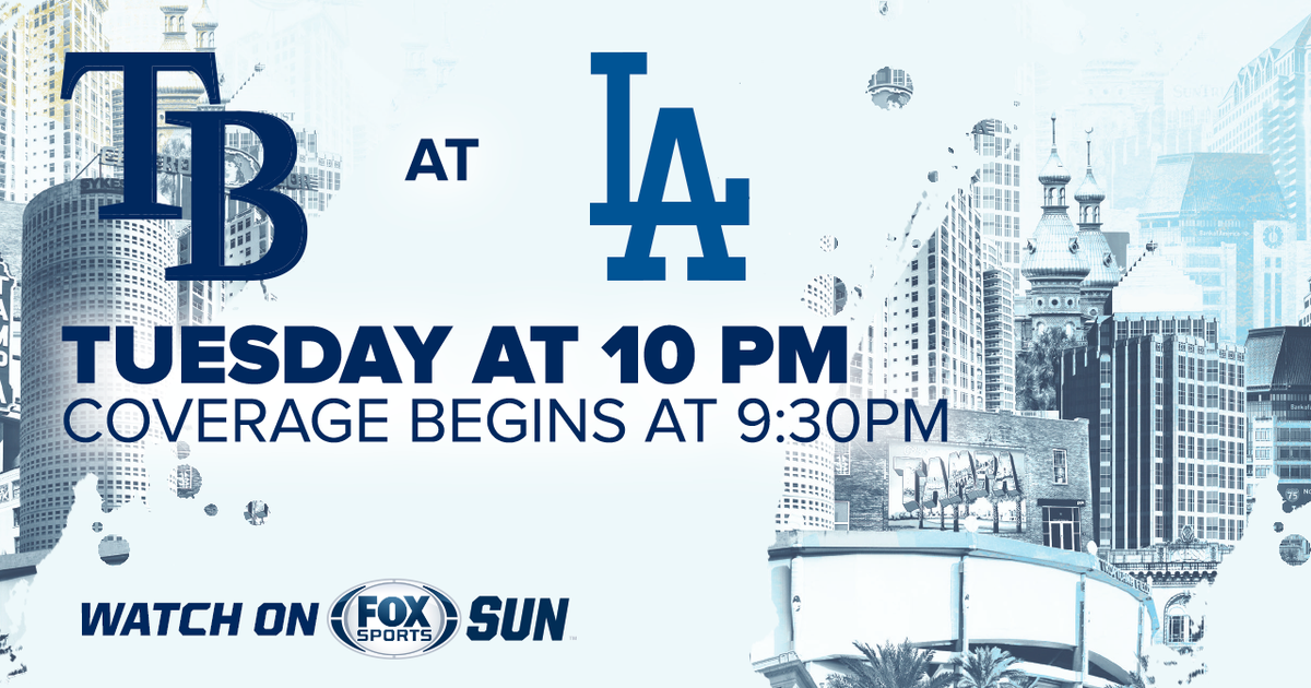 Tampa Bay Rays at Los Angeles Dodgers game preview