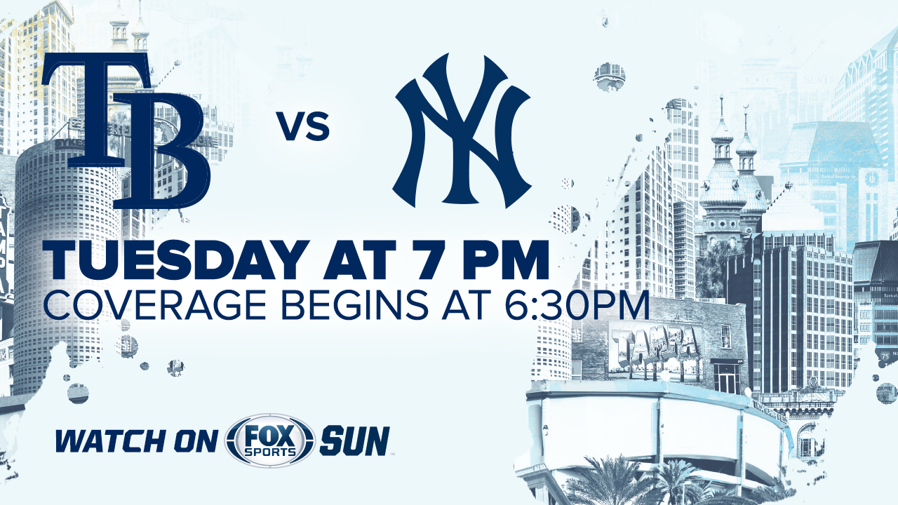 graphic relating to Yankees Printable Schedule named Tampa Bay Rays at Contemporary York Yankees activity preview