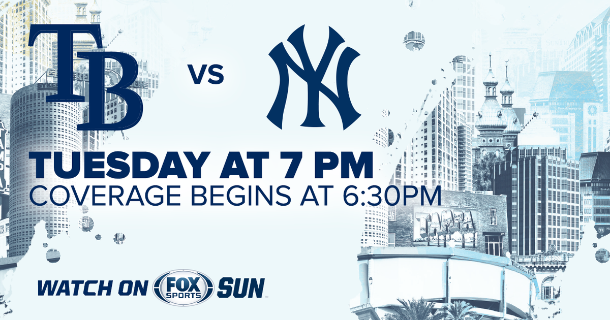 graphic regarding New York Yankees Printable Schedule named Tampa Bay Rays at Clean York Yankees activity preview