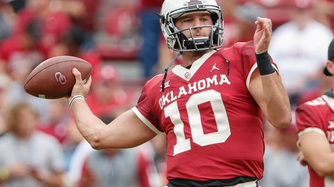 <p>               FILE - In this Sept. 29, 2018, file photo, then-Oklahoma quarterback Austin Kendall (10) warms up before the start of an NCAA college football game against Baylor in Norman, Okla. West Virginia coach Neal Brown announced Tuesday, Aug. 20, 2019, that Kendall will start the Mountaineers' season opener Aug. 31 against James Madison. Kendall is a graduate transfer from Oklahoma. (AP Photo/Alonzo Adams, File)             </p>