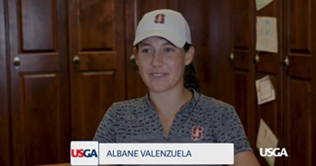 Meet U S  Women's Amateur Finalist Albane Valenzuela