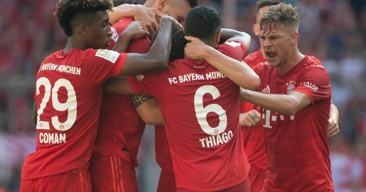 1st Bundesliga win for Union Berlin; Bayern routs Mainz 6-1   FOX Sports