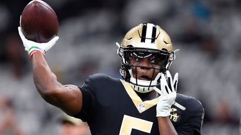 <p>               FILE - In this Sunday, Dec. 30, 2018 file photo, New Orleans Saints quarterback Teddy Bridgewater (5) warms up before an NFL football game against the Carolina Panthers in New Orleans. If they get on the field Friday night, Aug. 9, 2019 and most of them are expected to play a handful of former Vikings and current Saints will see some familiar faces on the other side. This will be the first time Bridgewater has played against the Vikings, who drafted him in the first round in 2014 and let him leave as a free agent two years ago after his massive knee injury altered plans to build their offense around him. (AP Photo/Bill Feig, File)             </p>