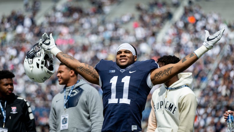 Making Micah: Parsons primed to be Penn State's next star LB