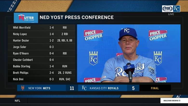 Yost: Bullpen 'struggled to get outs'